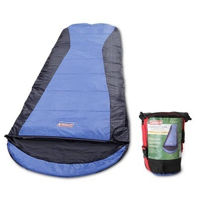 COLEMAN Compact Backpacking Sleeping Bag Blue