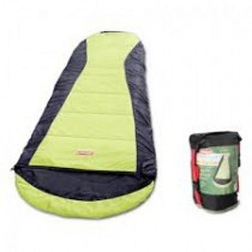 COLEMAN Compact Backpacking Sleeping Bag yellow