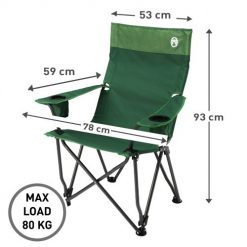 COLEMAN High Back Relax Chair