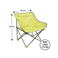 COLEMAN Lime Kickback Chair