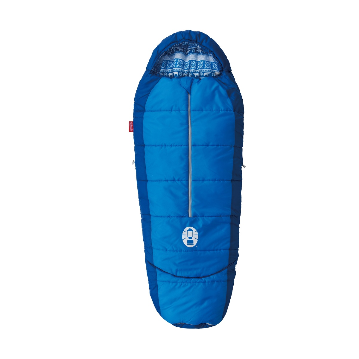 Coleman Kids mummy sleeping bag navy 1