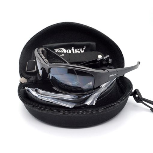 DaisyX Tactical Outdoor 4 in 1 Sunglasses Set 5