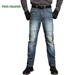 Free Soldier Stretch Blue Jeans