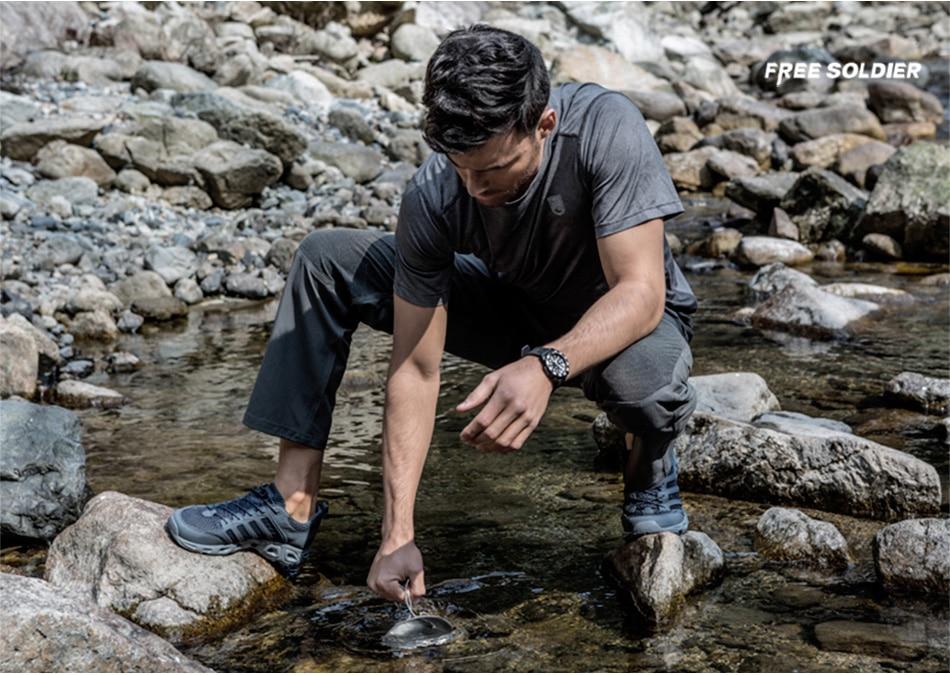 Free Soldier Outdoor Waterproof Shoe