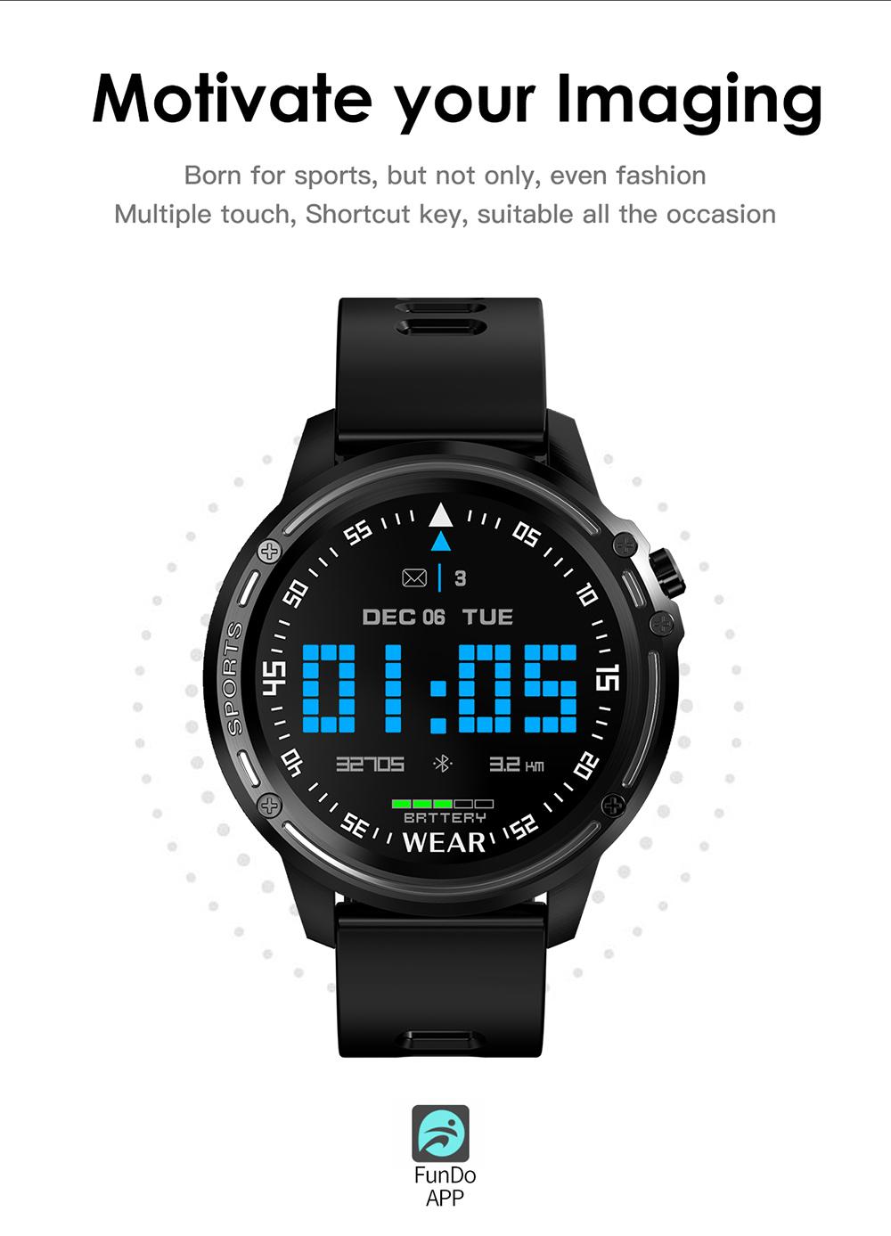 TBF Bluetooth L8 Smartwatch