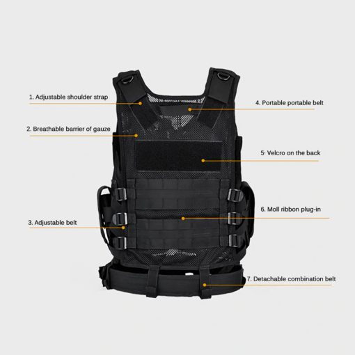 TBF Multi-Pocket Outdoor Tactical Vest