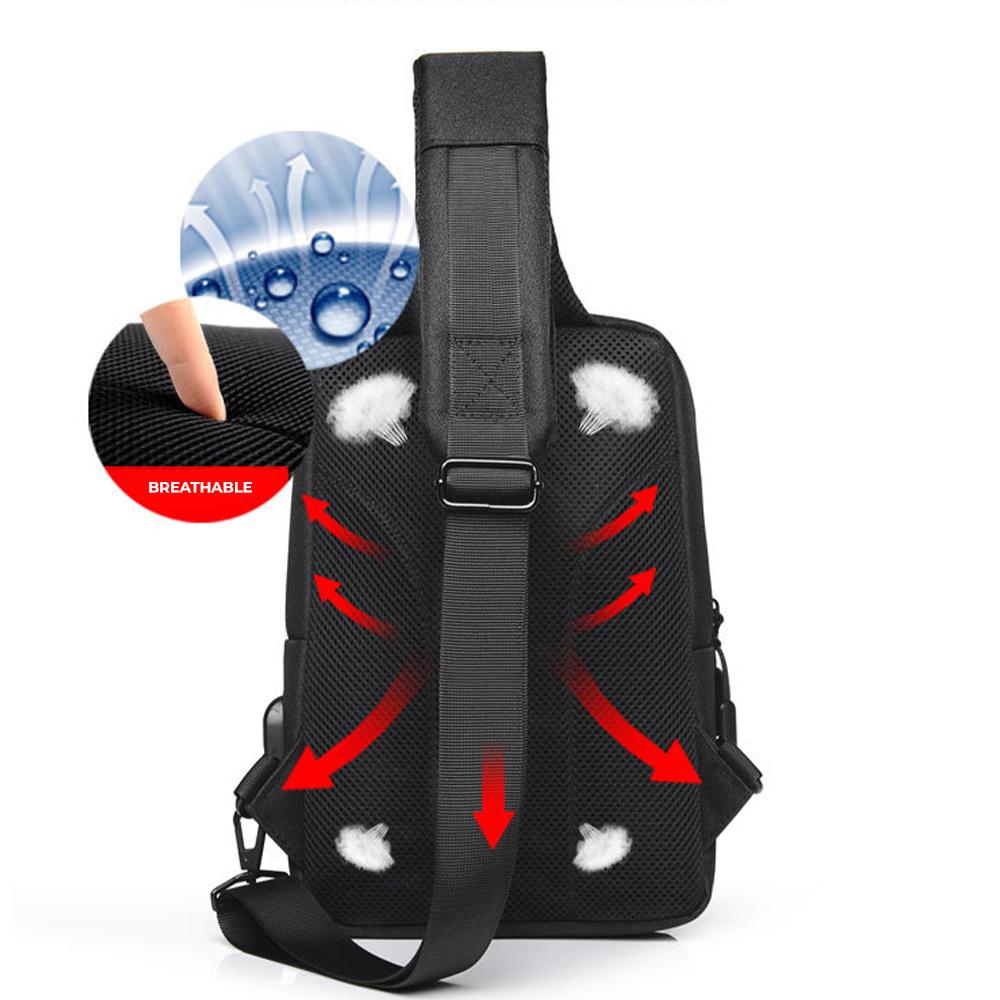 TBF Water Resistance Sling Bag 5