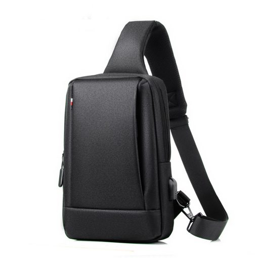 TBF Water Resistance Sling Bag Black