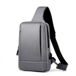 TBF Water Resistance Sling Bag Grey