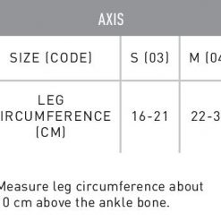 Axis SizeChart page 001