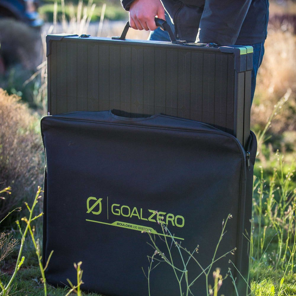 Ultimate Guide To The Best Camping Solar Panels Australia 2021 - Boulder Solar Panel Briefcase