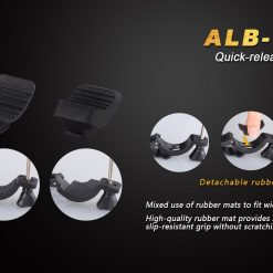 Fenix ALB-10 New Bicycle Mount- solid and anti-aging