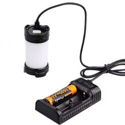 Fenix ARE-X2 Dual Battery Charger- can accept different sizes of batteries