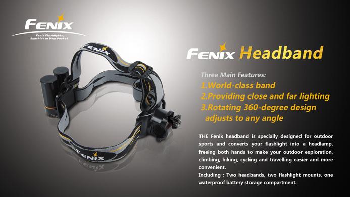 Fenix Sports Headband- durable and comfortable