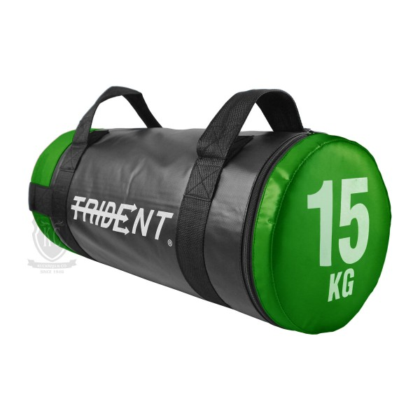 Trident Tubular Powerbag, muscle trainig, power weight bag, fitness, workout, bicep, PVC, gym, home, sado