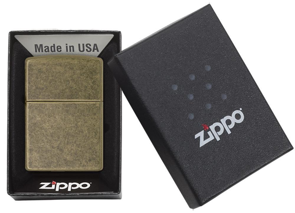 ZIPPO Regular Antique Brass