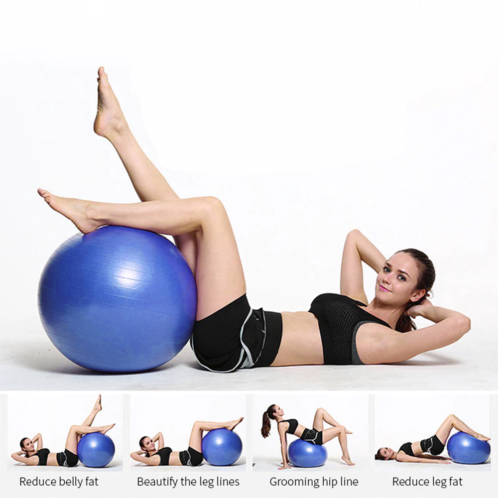 POWER BEARR Yoga Gym Ball, gym ball, gym ball exercises, gym equipment ball, gym bouncy ball, gym fitness ball