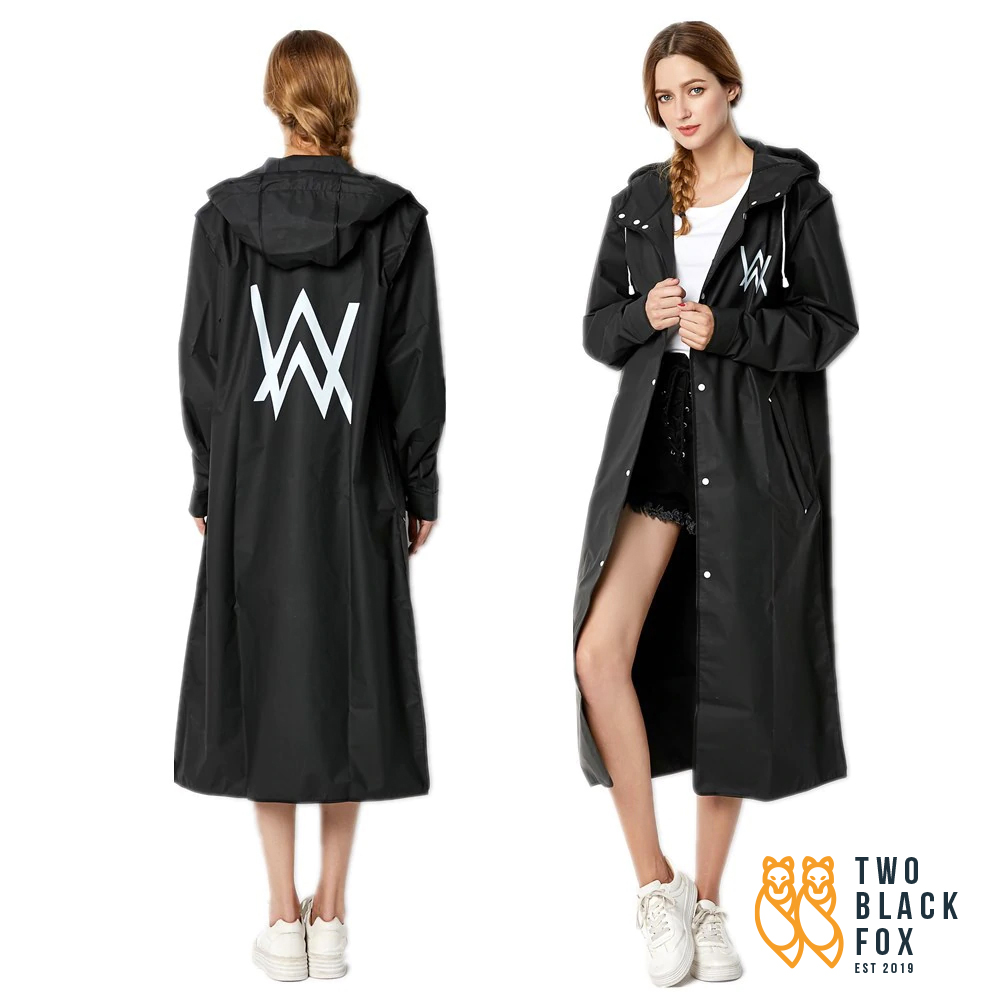 TBF One Piece Landis Raincoat, head to knee raincoat, raining wear, outdoor coat, cycling, running, hiking