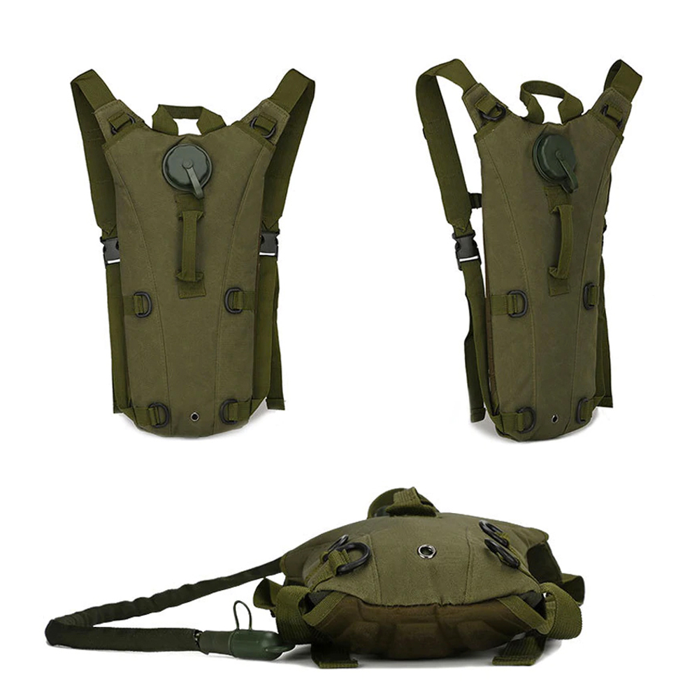 TBF Outdoor 3L Tactical Bag, hydration bag, pack, bladder, camping, hiking, travel