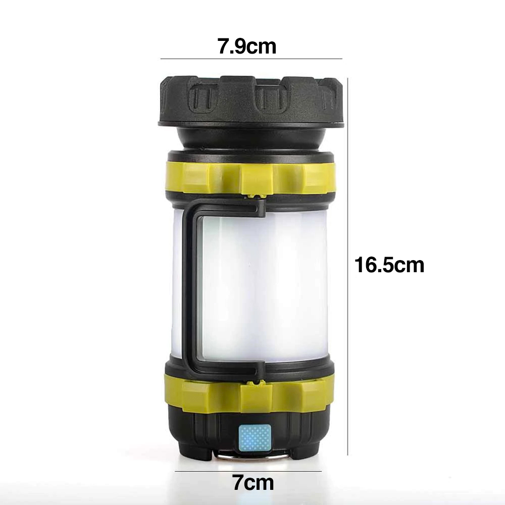 TBF Multifunction Outdoor Lantern with USB Charger, light, travel, camping, hiking, light with handle, study light, darkness, emergency
