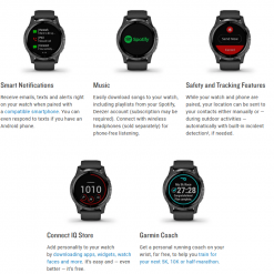 GARMIN Vívoactive 44s GPS and WiFi Smartwatch