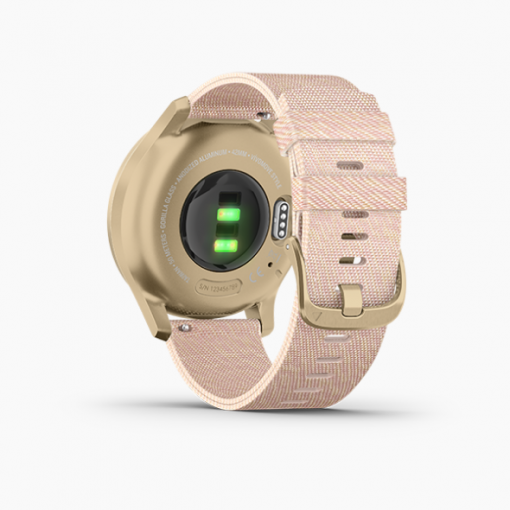 GARMIN Vívomove Style Hybrid Smartwatch Side 1