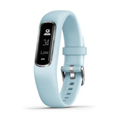 GARMIN Vívosmart 4 Fitness Tracker Silver Azure
