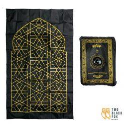 TBF Compact & Portable Prayer Mat, compass, outdoor, foldable, tikar, solat, sembahyang, muslim pro, kiblat, qibla, pray, prayer mat, muslim prayer mat, prayer rug, lightweight prayer mat, compass and qibla prayer mat, convenient prayer mat