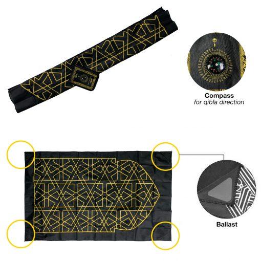 TBF Compact Portable Prayer Mat 6