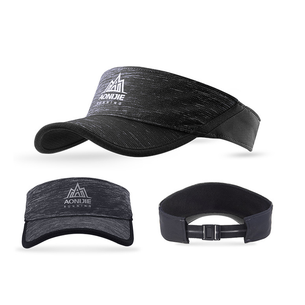 Aonijie Outdoor Visor Cap, hat, sun, cover, shield, band. sweat, running, cycling, marathon, breathable, cooling, adjustable, reflective