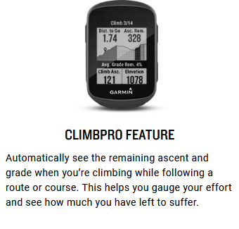 GARMIN Edge 130 Plus GPS Bike Computer Specs 5