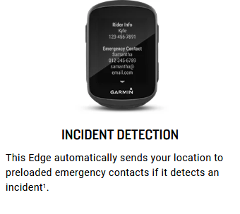 GARMIN Edge 130 Plus GPS Bike Computer Specs 6