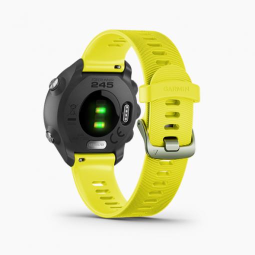 GARMIN Forerunner 245 GPS Advanced Training Features Smartwatch Yellow 2