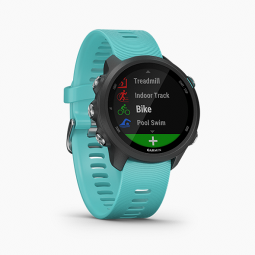GARMIN Forerunner 245 GPS Running Smartwatch with Music Aqua 2