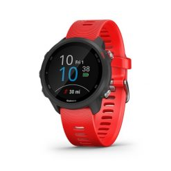 GARMIN Forerunner 245 GPS Running Smartwatch with Music Red