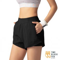 TBF Female Short Pants for Sport Black