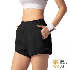 TBF Female Short Pants for Sport Black