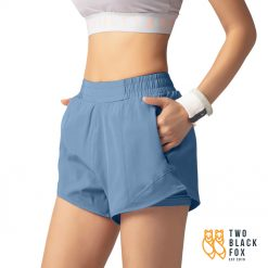 TBF Female Short Pants for Sport Blue