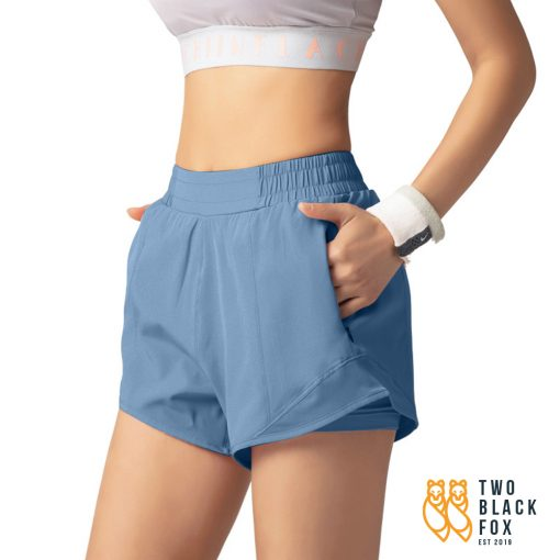 TBF Female Short Pants for Sport Blue