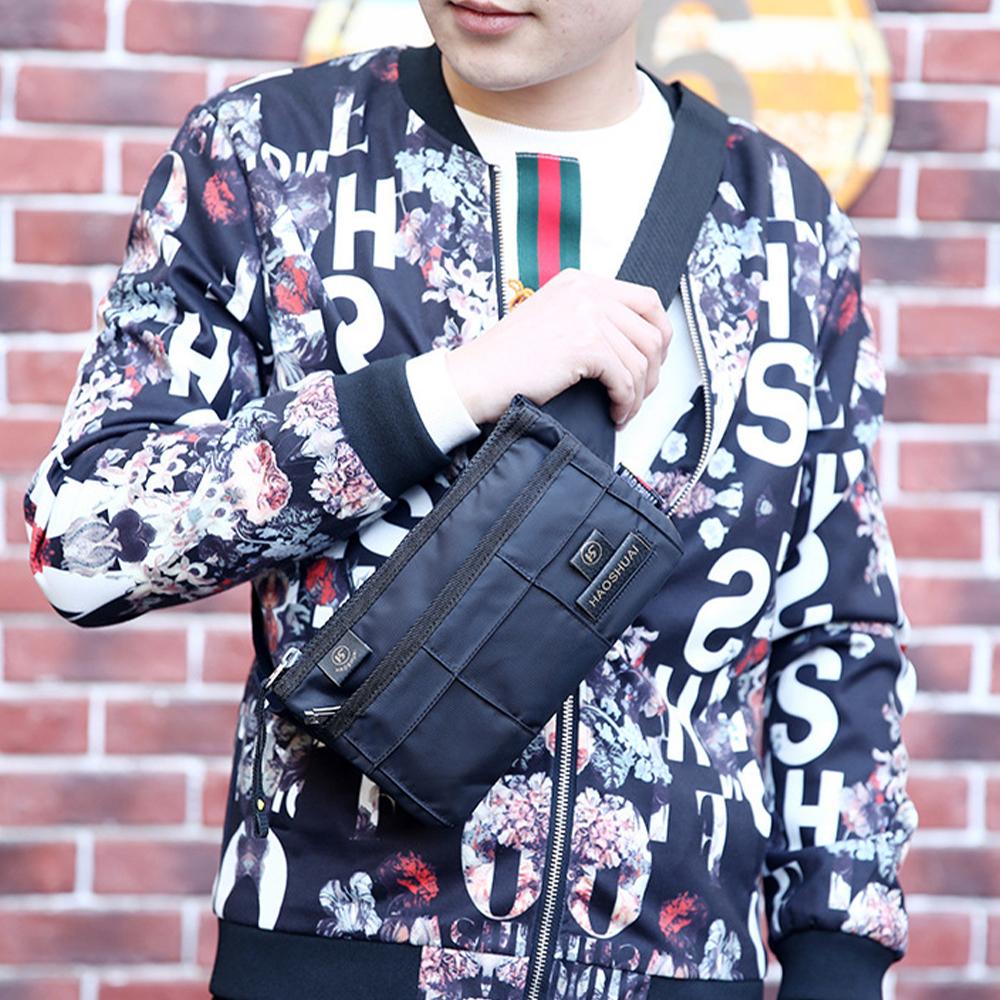 TBF Multi-Pocket Anti-Theft Sling Bag, shoulder bag, waist, chest, messenger, pouch, holder, pack, fit, unisex, beg, beg tangan, handbag, adjustable strap, buckle, fashion