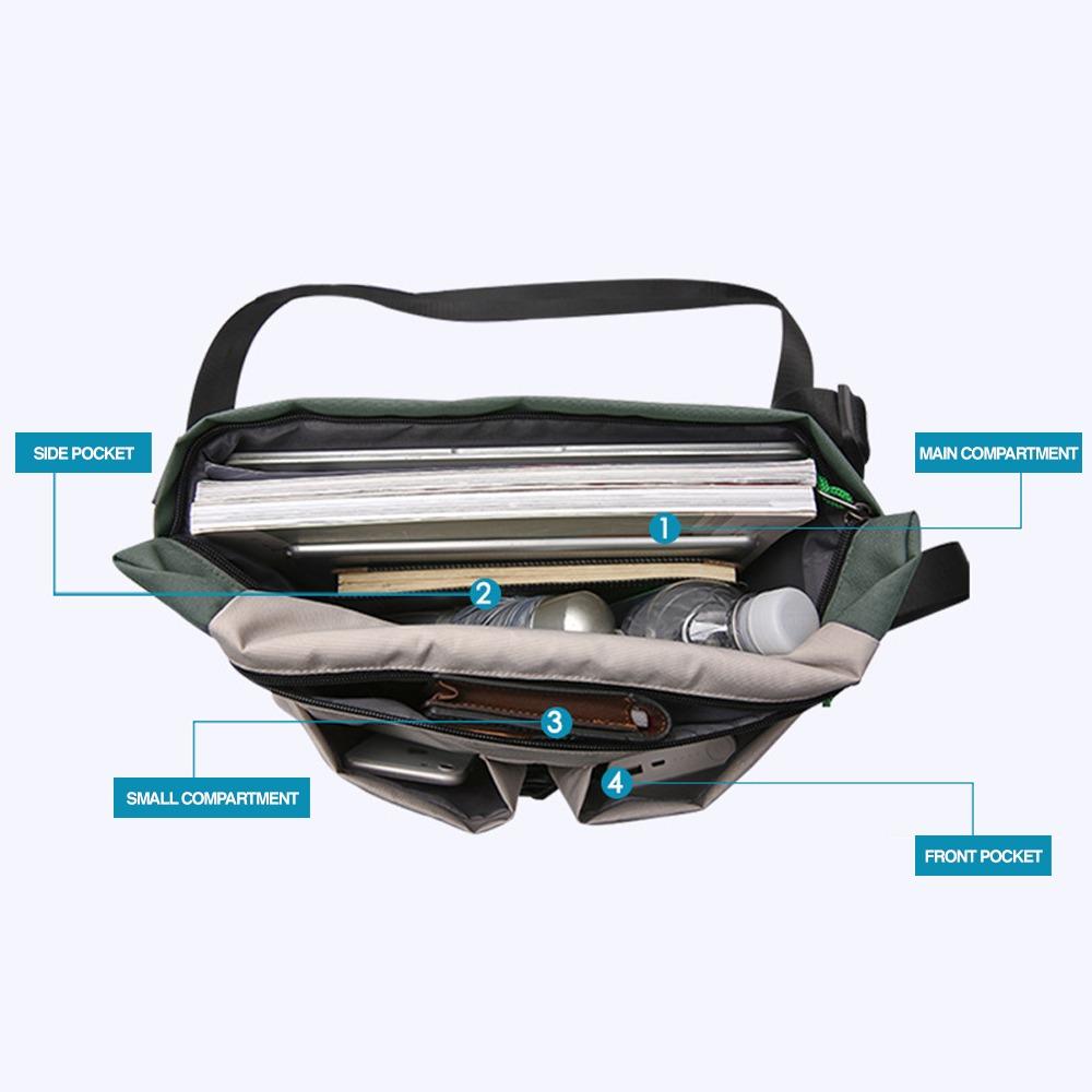 TBF Multi-pocket Travel Sling Bag, laptop, bag, notebook, macbook, shoulder bag, messenger bag, beg silang, tepi, cross bag