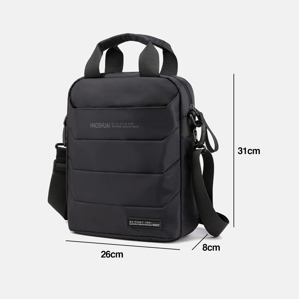 TBF Multipurpose Travel Backpack, bagpack, beg laptop, beg galas, shoulder bag, compartments, foam pad, pen holder beg, sling bag, beg sandang