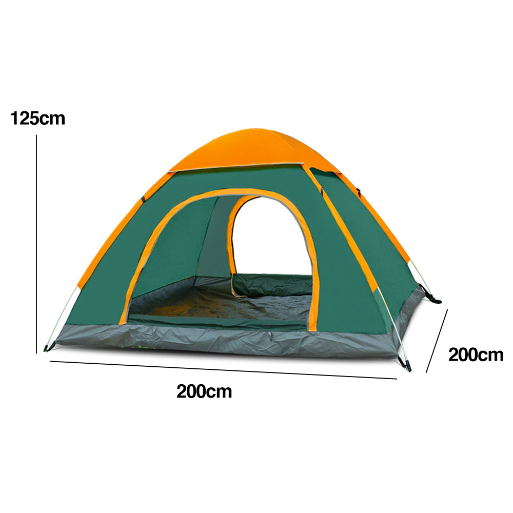 TBF Outdoor Automatic 2 Men Tent, comfortable, water-resistant, lightweight, outdoor, affordable
