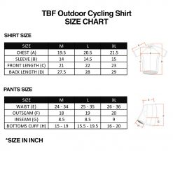 TBF Outdoor Cycling Shirt SZ