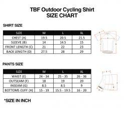 TBF Outdoor Cycling Shirt SZ