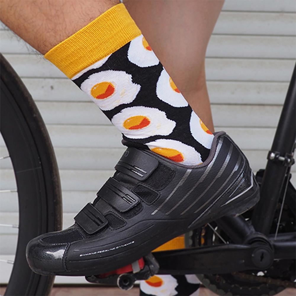 TBF Outdoor Cycling Socks, cartoon, stoking, stokin, length, full, running, high, travel