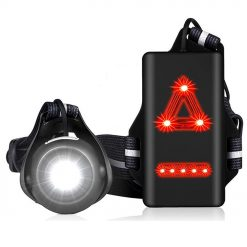 TBF Running Reflective Vest with Blinker
