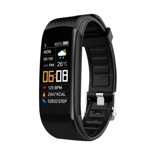 YoMi Smart Watch Bracelet with Bluetooth Black