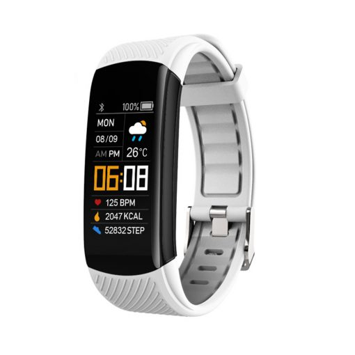 YoMi Smart Watch Bracelet with Bluetooth White