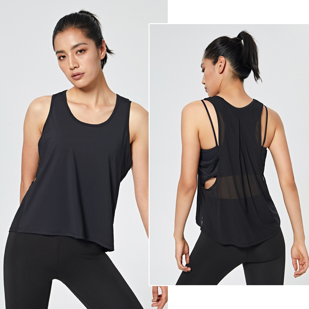 Female Loose Fit Quick Dry Tank Top, yoga, fitness, comfort, quick dry,